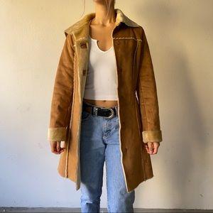 🖤SALE: price drop🖤F21 faux suede coat